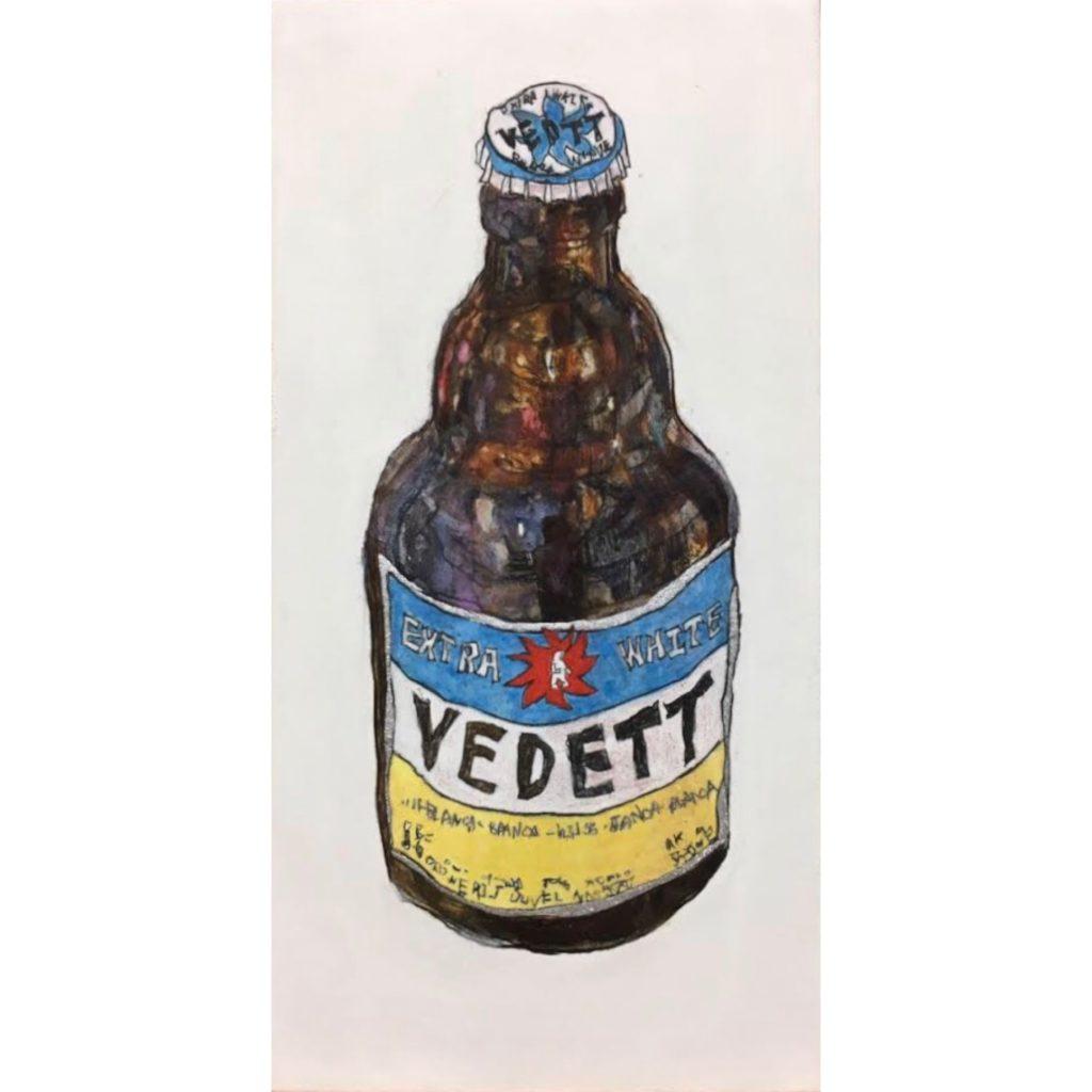 祭りの夜のビール